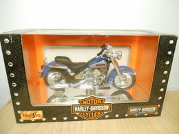 Harley Davidson Maisto 1:18 1986 Flst Heritage Softail Evolution - Motos
