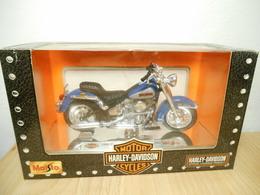 Harley Davidson Maisto 1:18 1986 Flst Heritage Softail Evolution - Motorcycles