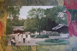 KOREA NORTH 1970s  Postcard - Songzhuk Park, Kaesong - Korea, North