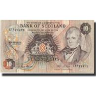 Billet, Scotland, 10 Pounds, 1987, 1987-08-06, KM:113c, TTB - [ 3] Escocia