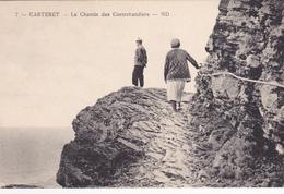 50. CARTERET. CPA . LE CHEMIN DES CONTREBANDIERS - Carteret