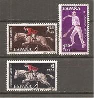 España/Spain-(usado) - Edifil  1316-19 - Yvert  Aéreo-286-89 (o) - Posta Aerea