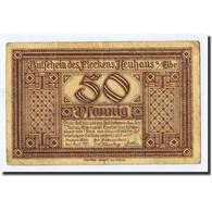 Billet, Allemagne, Neuhaus A.d Elbe, 50 Pfennig, Château, 1921, 1921-04-01 - Germany
