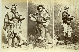 Mode Masculine Européenne Du XVIe Siécle Costumes Archer Ancienne Photo Calavas 1890 - Photographs