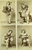 Mode Masculine Européenne Du XVIe Siécle Costumes Ancienne Photo Calavas 1890 - Photographs