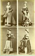 Mode Feminine Européenne Du XVIe Siécle Costumes Ancienne Photo Calavas 1890 - Anciennes (Av. 1900)