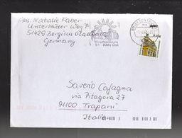 Germania R F T. : P.O.  0,55 €. Su Lettera  Del  1.02.2005. Da  Bergisch Gladbach  A Trapani - Cartas