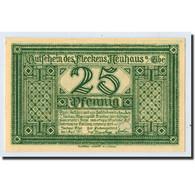 Billet, Allemagne, Neuhaus A.d Elbe, 25 Pfennig, Maison, 1921, 1921-04-01, SPL - Germany