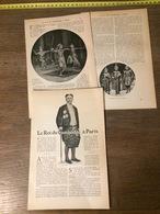 ENV 1905 LE ROI DU CAMBODGE A PARIS SISOWATH - Vieux Papiers
