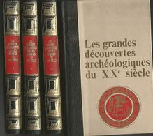 4 Tomes Présentés Jean DUMONT Les Grandes Découvertes Archéologiques Du XXe Siècle - Archéologie