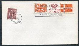 1971 GB Norway Postal Strike Cover. Oslo - 1952-.... (Elizabeth II)