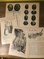 ENV 1905 TETE DE TURC DE GUSTAVE HUE MUSEE DES SOUVERAINS SUR FRUITS  SUR POMMES - Colecciones