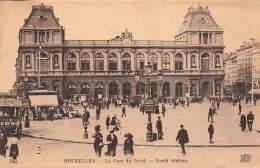 BRUXELLES - La Gare Du Nord - North Station - Chemins De Fer, Gares