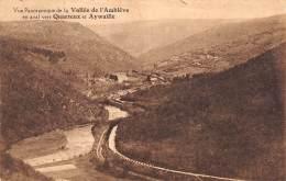 Vue Panoramique De La Vallée De L'Amblève En Aval Vers QUARREUX Et AYWAILLE - Aywaille