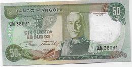PORTUGAL / Angola -  50 Escudos  1972 - Angola