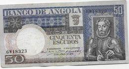 PORTUGAL / Angola -  50 Escudos  1973 - Angola