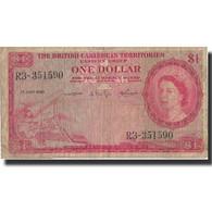 Billet, British Caribbean Territories, 1 Dollar, 1960, 1960-07-01, KM:7c, B+ - Caraïbes Orientales