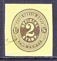 US CUT  SQUARE  U O 5    (o)   1873  ISSUE - Postal Stationery
