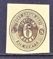 US CUT  SQUARE  U O 12    (o)   1879  ISSUE - Postal Stationery