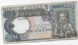 PORTUGAL / Angola -  1.000 Escudos  1973 - Angola