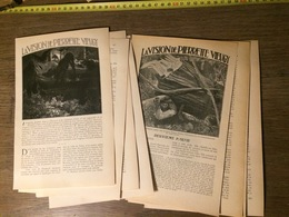 ENV 1905 VISION DE PIERRETTE VIEUGY POINTE DU LAC D ANNECY VELAN YRE VILLAGE DE CHEVALINE - Colecciones