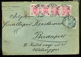 92541 LAIBACH 1900. Céges Levél, Levélzáróval Budapestre Küldve - 1850-1918 Empire