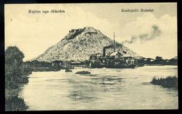 92440 ALBÁNIA 1910. Cca. Hajós Képeslap - Albania