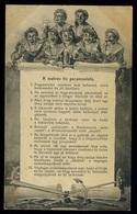 92147 K.u.K. HADITENGERÉSZET I.VH Képeslap,S.M. Dampfer IV. Bélyegzéssel Kolozsvárra - Used Stamps