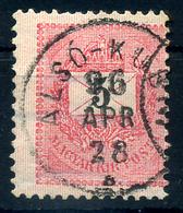 92642 ALSÓKUBIN 5kr Szép Bélyegzés  /  ALSÓKUBIN 5kr Nice Pmk - Used Stamps