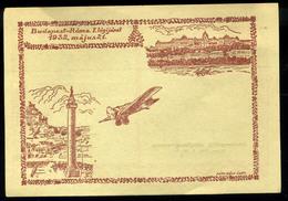 92506 1932 Óceánrepülők Világkongresszusa, Budapest-Róma Használatlan Levelezőlap / 1932 Ocean Aircraft World Congress B - Hungary