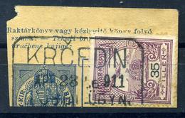 92484 KRCEDIN / KEREKED 1911 Postaügynökségi Lebélyegzés  /  KEREKED 1911  Postal Agency Pmk - Used Stamps
