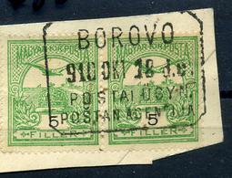 92486 BOROVO 1910. Postaügynökségi Lebélyegzés  /  BOROVO 1910 Postal Agency Pmk - Used Stamps