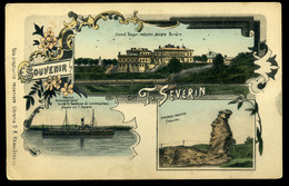 92423 ROMÁNIA 1905. Cca. T.Severin Régi Képeslap  /  ROMANIA Ca 1905 T.Severin  Vintage Pic. P.card - Romania