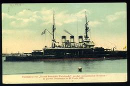 92417 ROMÁNIA  Constanta,  Potemkin Hajó, Régi Képeslap  /  ROMANIA Ship Potemkin  Vintage Pic. P.card - Romania