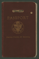 Wonderful Passport USA 1935. 24 Pictures Are Shown  RRR! - Historical Documents