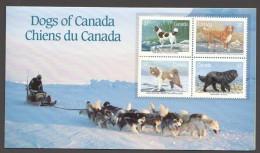 1988  Dogs Of Canada Sc 1217-20 MNH  In Presentation Pack - 1952-.... Règne D'Elizabeth II