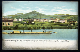 92226 AUSZTRIA 1900. Cca. Marburg Régi Képeslap - Slovenia