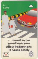 OMAN(GPT) - Rights Of Pedestrians, CN : 37OMNJ(normal 0), 04/98, Used - Oman