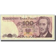 Billet, Pologne, 100 Zlotych, 1988, 1988-05-01, KM:143e, TB+ - Polen