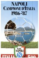(208) Italy - Napoli Campione D'Italia 1986-87 - Football - Fussball
