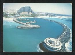 United Arab Emirates UAE Dubai Picture Postcard Aerial View Jumeirah Beach Hotel Dubai  View Card - Dubai