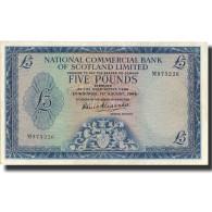 Billet, Scotland, 5 Pounds, 1966, 1966-08-01, KM:272a, SUP - [ 3] Scotland