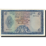Billet, Scotland, 5 Pounds, 1966, 1966-08-01, KM:272a, SUP - Schotland