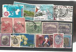 55378  ) Collection Philippines Tasmania Thailand Postmark - Stamps