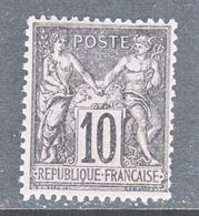 FRANCE 91  Type  I  *  Perf 14 X 13 1/2 - 1876-1878 Sage (Type I)