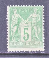 FRANCE  78  Type  II  *  Perf 14 X 13 1/2 - 1876-1898 Sage (Type II)