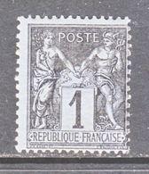 FRANCE  86  Type  II  *  Perf 14 X 13 1/2 - 1876-1898 Sage (Type II)