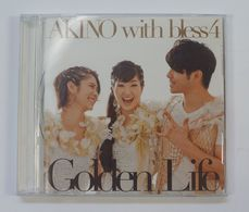 """CD : Akino With Bless4 """" Golden Life """" - Soundtracks, Film Music"""