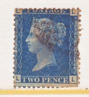 GREAT  BRITIAN  30   Plate 13  Fault   (o)    Lg. Crown  1869  Issue - 1840-1901 (Victoria)