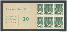 SUEDE 1959 - CARNET  YT C442a - Facit H129 - Neuf ** MNH - Administration Nationale Des Forêts - Carnets